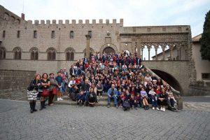 Viterbo - Piazza S. Lorenzo - Inaugurazione anno scolastico dell'Istituto paritario G. Merlini