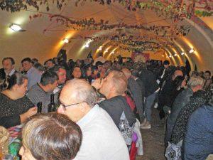 La cena di solidarietà a Canepina