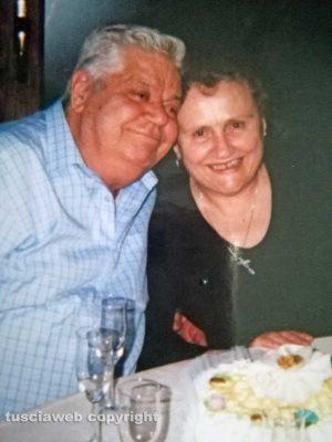 Tuscania - 60 anni di matrimonio per Anselmo e Maria Pieri Pilotti