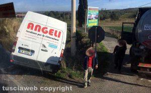 L'incidente sulla Tuscanese