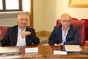 Viterbo - Consiglio provinciale - Livio Treta e Massimo Paolini