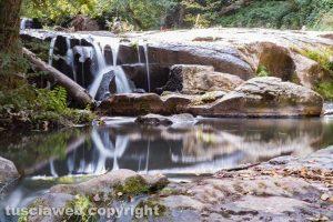 Soriano nel Cimino - La cascata di Chia