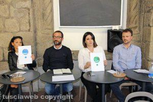 Tiziana Lagrimino, Andrea Egidi, Elena Tolomei e Paolo Aleandri