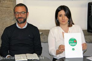 Andrea Egidi ed Elena Tolomei