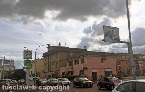 Viterbo - I lavori e il traffico sulla Teverina