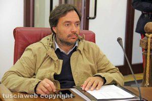 Giuseppe Talucci Peruzzi durante l'incontro con gli studenti