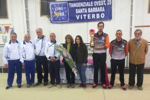 Sport - Bocce - Corrado Campè e Alessandro Faluschi della bocciofila Selva Candida