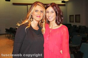 Alessandra Troncarelli e Manuela Benedetti