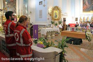 Soriano nel Cimino - I funerali di Simone Ricci
