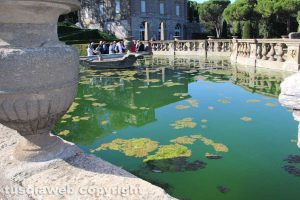 Bagnaia - Villa Lante - Giardino all'italiana nel degrado