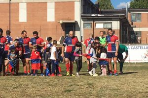 Sport - Amatori rugby Civita Castellana - La squadra in azione
