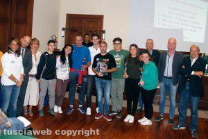 Viterbo - Le premiazioni del progetto 'Scuola - movimento - sport - salute'
