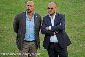Sport - Calcio - Viterbese - Alessandro Luci e Diego Foresti
