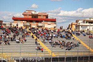 Sport - Calcio - Viterbese - La curva gialloblù, ancora senza ultras