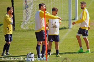 Sport - Calcio - Viterbese - L'allenamento della squadra
