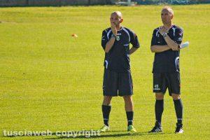 Sport - Calcio - Viterbese - Federico Nofri e Claudio Mele
