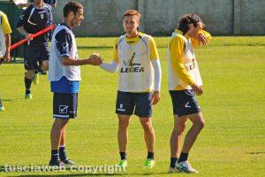 Sport - Calcio - Viterbese - Sorbo, Musacci e Peverelli