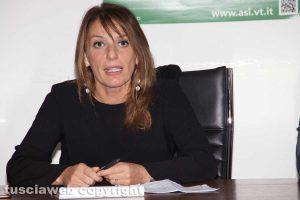 Viterbo - Il direttore generale della Asl Daniela Donetti