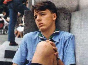 Matteo Renzi boy scout