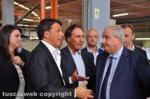 Matteo Renzi, Angelo Rossini e Giuseppe Fioroni