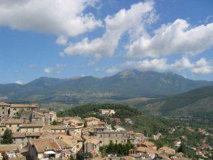 Frosinone - Monti Ernici visti da Alatri