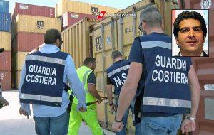 L'operazione della Guardia costiera sui rifiuti tossici - Nel riquadro: Roberto Mattaroccia, titolare della Tmr di Castiglione in Teverina