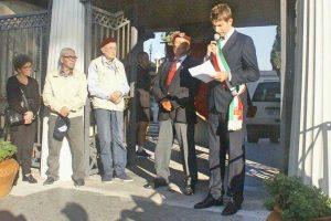 Tarquinia - La cerimonia commemorativa della scuola paracadutisti