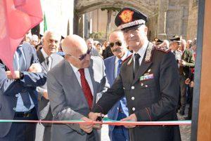 Viterbo - Il comandante generale dell'Arma dei carabinieri Tullio Del Sette