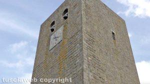 La torre di Bassano in Teverina