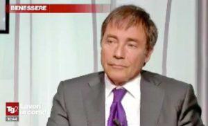 Giorgio Nicolanti al programma del Tg2 Salute