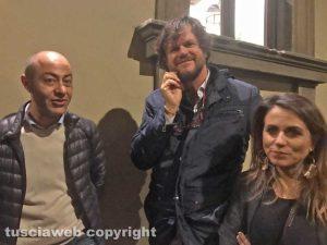 Viterbo - Teatro Caffeina - Andrea Baffo, Filippo Rossi e Annalisa Canfora