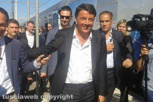 Matteo Renzi a Civita Castellana