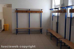 Viterbo - I nuovi spogliatoi del campo da rugby