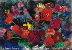 Zinnie 2010 - Una delle opere di Rudolf Kortokraks rubate a Tuscania