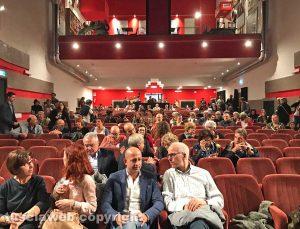 Viterbo - L'inaugurazione di teatro Caffeina