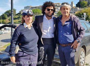 Capodimonte - Francesco Renga e il sindaco Mario Fanelli
