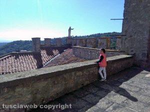 Il castello di Soriano nel Cimino