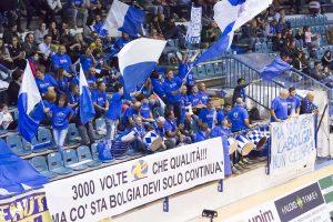 Sport - Pallavolo - I tifosi del Tuscania volley