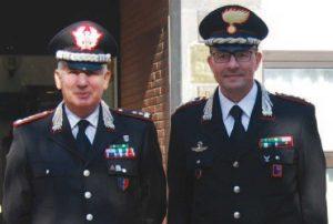 Il comandante dei Nas Adelmo Lusi con il colonnello Giuseppe Palma