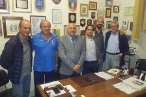Sport - Calcio - La riunione dell'Aia Viterbo