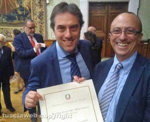 Premio Giacomo Matteotti a Valerio de Nardo