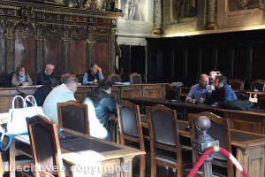 Viterbo - La riunione della seconda commissione