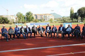 Sport - Il Panathlon club all'inaugurazione della nuova pista al Campo scuola