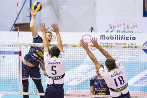 Sport - Pallavolo - I ragazzi del Tuscania volley in azione