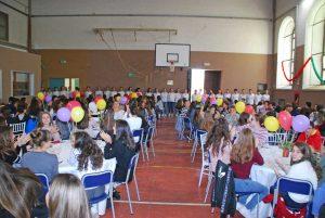 Viterbo - Liceo Buratti la festa di benvenuto