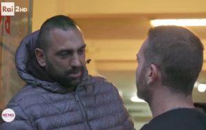 Roberto Spada con Davide Piervincenzi