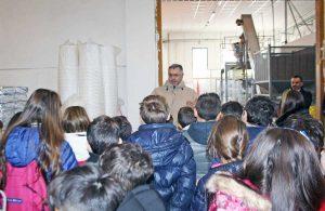Capranica - Studenti in visita all'azienda Cimina Dolciaria