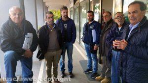 Viterbo - I lavoratori Alta con Fortunato Mannino