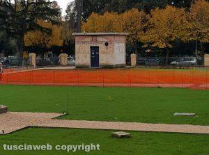 Tuscania - Il giardino dell'istituto Ildovaldo Ridolfi