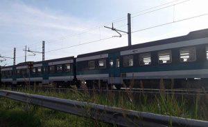 Scontro auto - treno sulla Roma - Viterbo